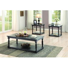 Bloomingdale 3 Piece Coffee Table Set by Darby Home Co