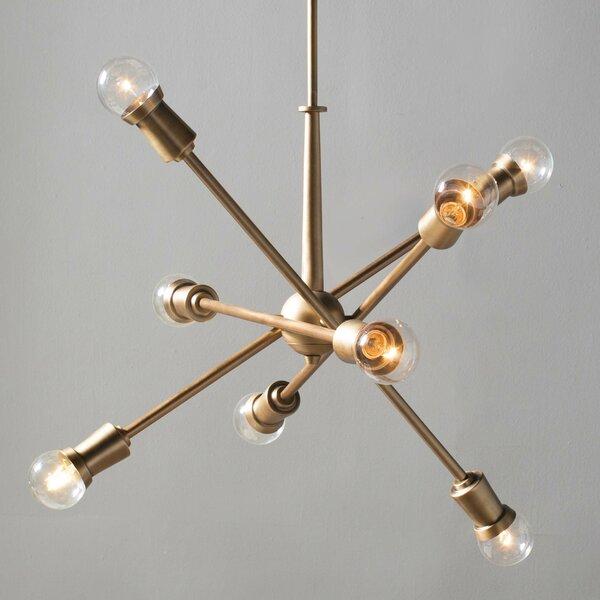 Corrigan Studio Pembroke Pines 8 Light Sputnik Chandelier