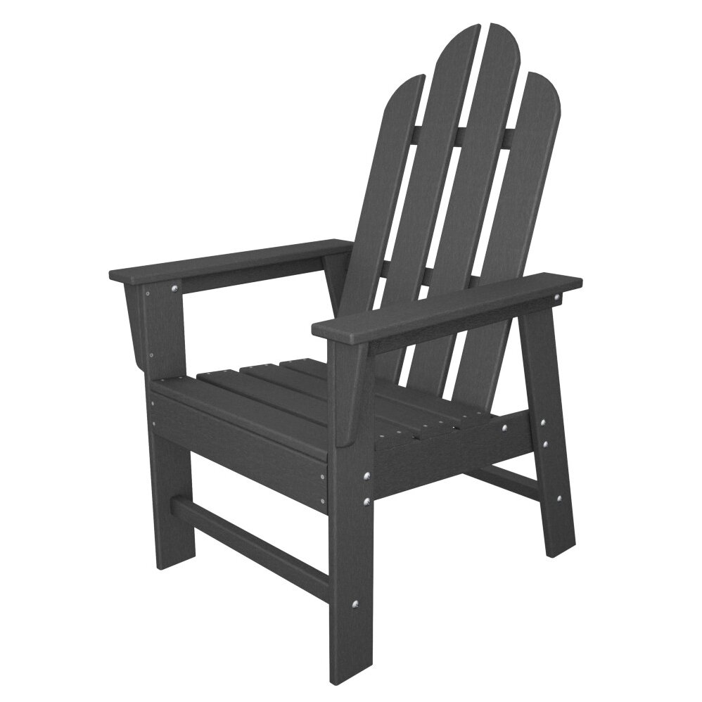 POLYWOOD Long Island Dining Chair  Reviews Wayfair - Outdoor furniture long island