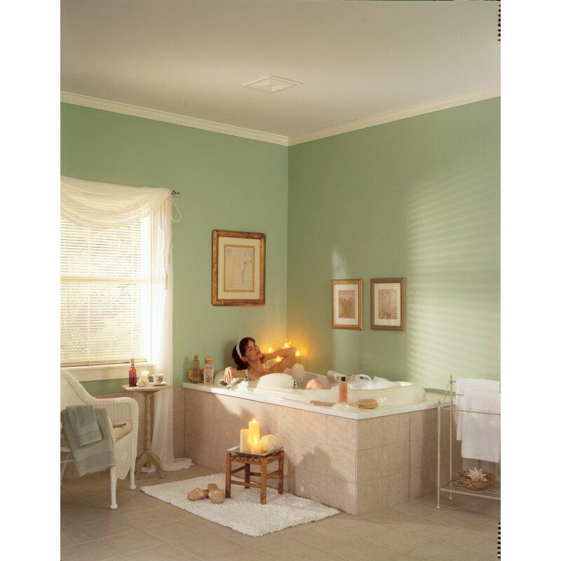 ceilingwall mount 50 cfm bathroom exhaust fan broan ceilingwall mount 50