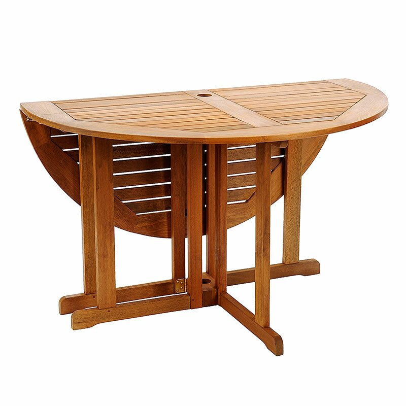 Beachcrest Home™ Collinsville Round Folding Dining Table & Reviews ...
