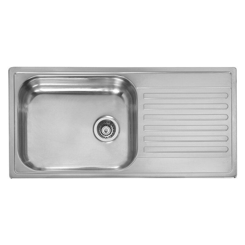 100cm x 50cm inset kitchen sink - Kitchen Sink Uk
