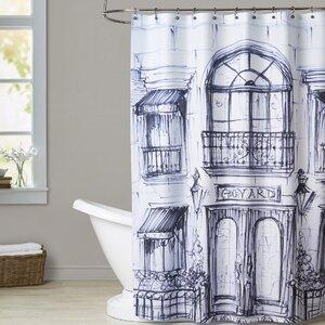 Williamson Window Shopping Shower Curtain House of Hampton