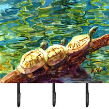 Turtle Wall Hook by Caroline's Treasures