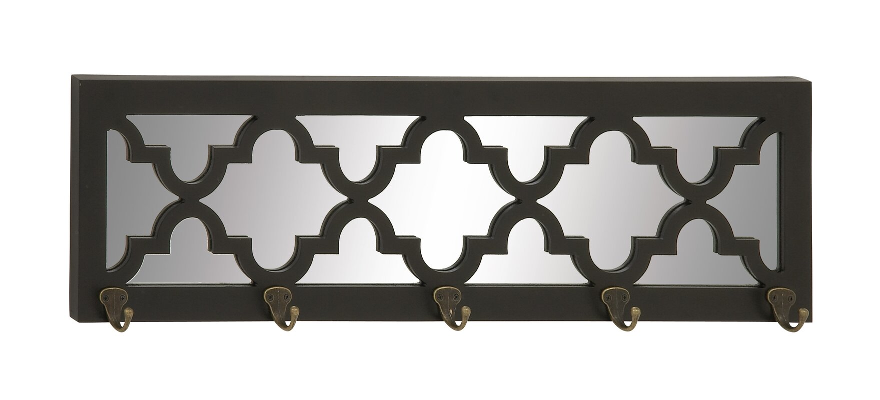 cole  grey wood mirror wall mounted coat rack  reviews  wayfair -  wall mounted coat racks  umbrella stands sku cogr defaultname