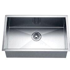 26 x 18 under mount square single bowl kitchen sink. beautiful ideas. Home Design Ideas