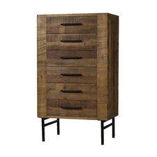 Lolita 6 Drawer Lingerie Chest by 17 Stories