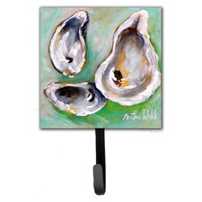 The Eye of The Oyster Leash Holder and Wall Hook by Caroline's Treasures