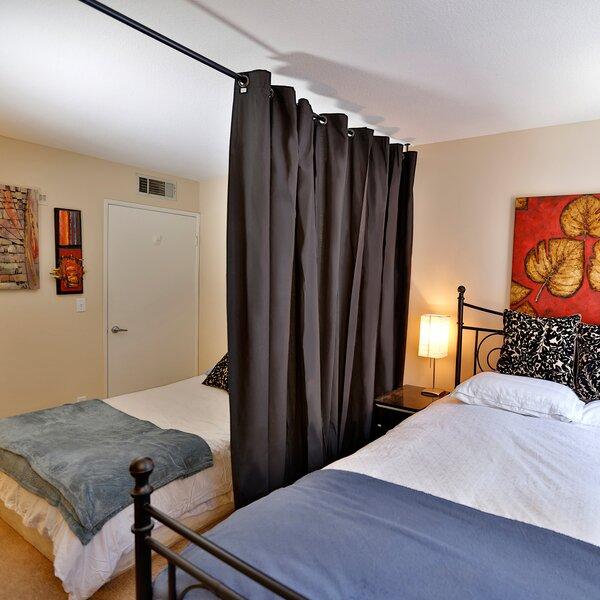 Roomdividersnow 108 X 168 192 Muslin Hanging X Large B 2 Panel Room Divider Reviews Wayfair