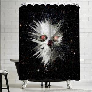 Ali Gulec Big Bang Shower Curtain East Urban Home