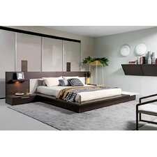 Gerardo Storage Platform Bed by Wade Logan