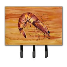 Shrimp Leash Holder and Key Hook by Caroline's Treasures
