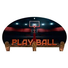 Play Ball 3 Hook Coat Rack by Next Innovations