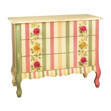 Rose 3 Drawer Accent Chest by Sterling Industries