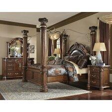 Monte Carlo II Canopy Customizable Bedroom Set by Michael Amini (AICO)