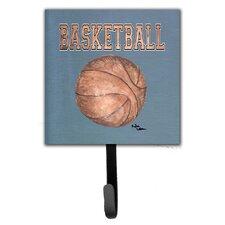 Basketball Leash Holder and Wall Hook by Caroline's Treasures