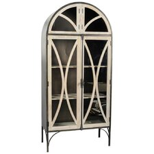 Constance I 2 Door Storage Cabinet by Mercana
