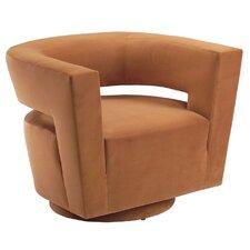 Galactica Return Swivel Barrel Chair by Lazar