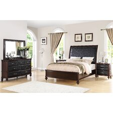 Bohemia Luxury Panel 5 Piece Bedroom Set by World Menagerie