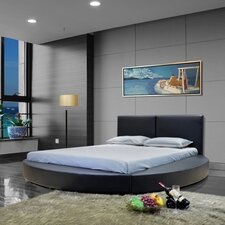 Queen Upholstered Platform Bed by Greatime