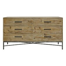 Angora 6 Drawer Dresser by PoliVaz