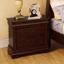 Fairhope 2 Drawer Nightstand by Alcott Hill