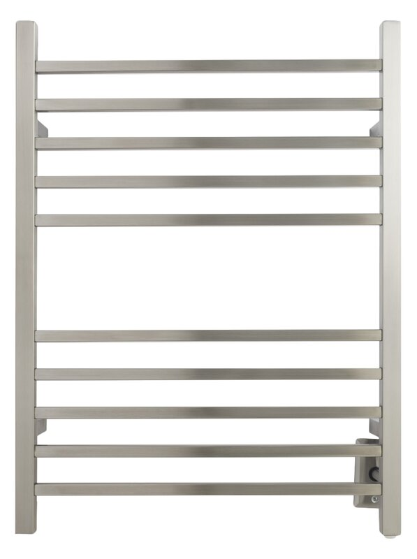 default name. Amba Radiant Wall Mount Hardwired Electric Towel Warmer   Reviews