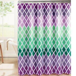 Purple Shower Curtains You Ll Love Wayfair