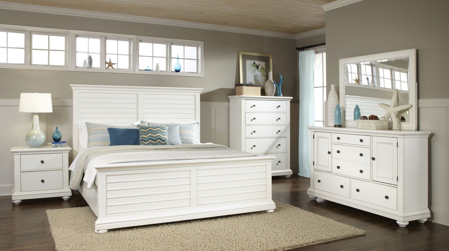 rosecliff heights galsworthy panel customizable bedroom set