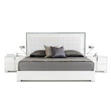 Yandel King Upholstered Platform Bed by Wade Logan