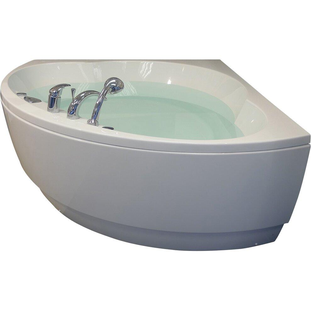 Aquatica Cleopatra 61 X 61 Corner Soaking Bathtub Reviews