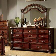 Lannisten 11 Drawer Dresser with Mirror by Hokku Designs