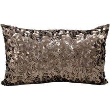 Sequin Silk Lumbar Pillow