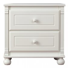 Jessica 2 Drawer Nightstand by Bellini Baby
