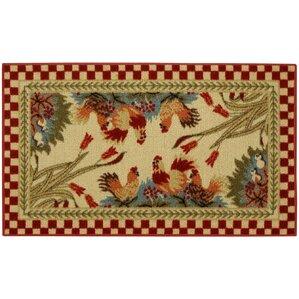 beauchesne rooster checke kitchen mat. beautiful ideas. Home Design Ideas