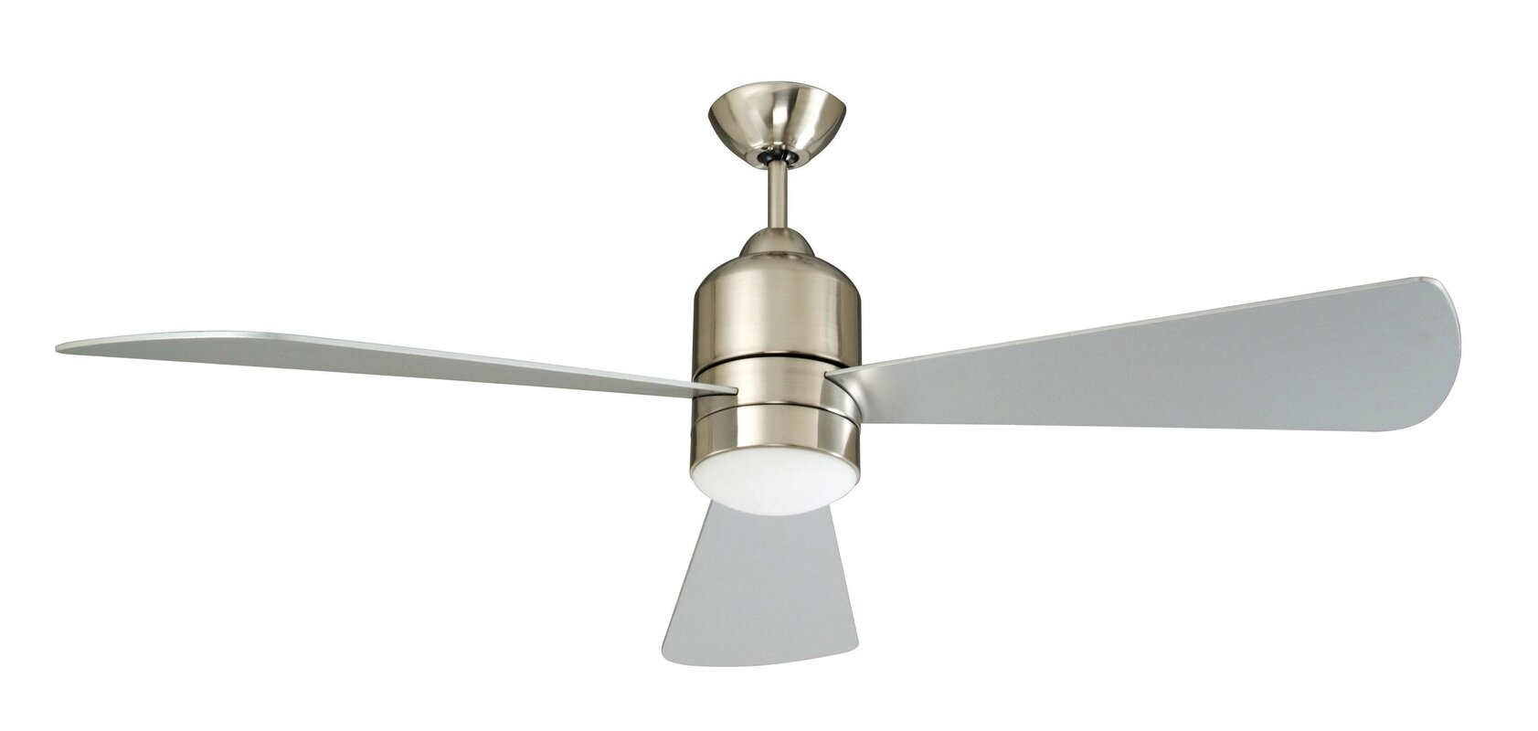 "concord fans 60"" decca 3-blade ceiling fan & reviews | wayfair"