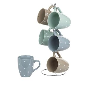 6 piece mug set