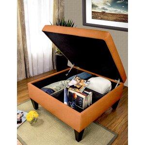 Key Largo Legged Box Storage Ottoman