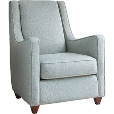 Beril Occasional Armchair and Ottoman by AllModern Custom Upholstery