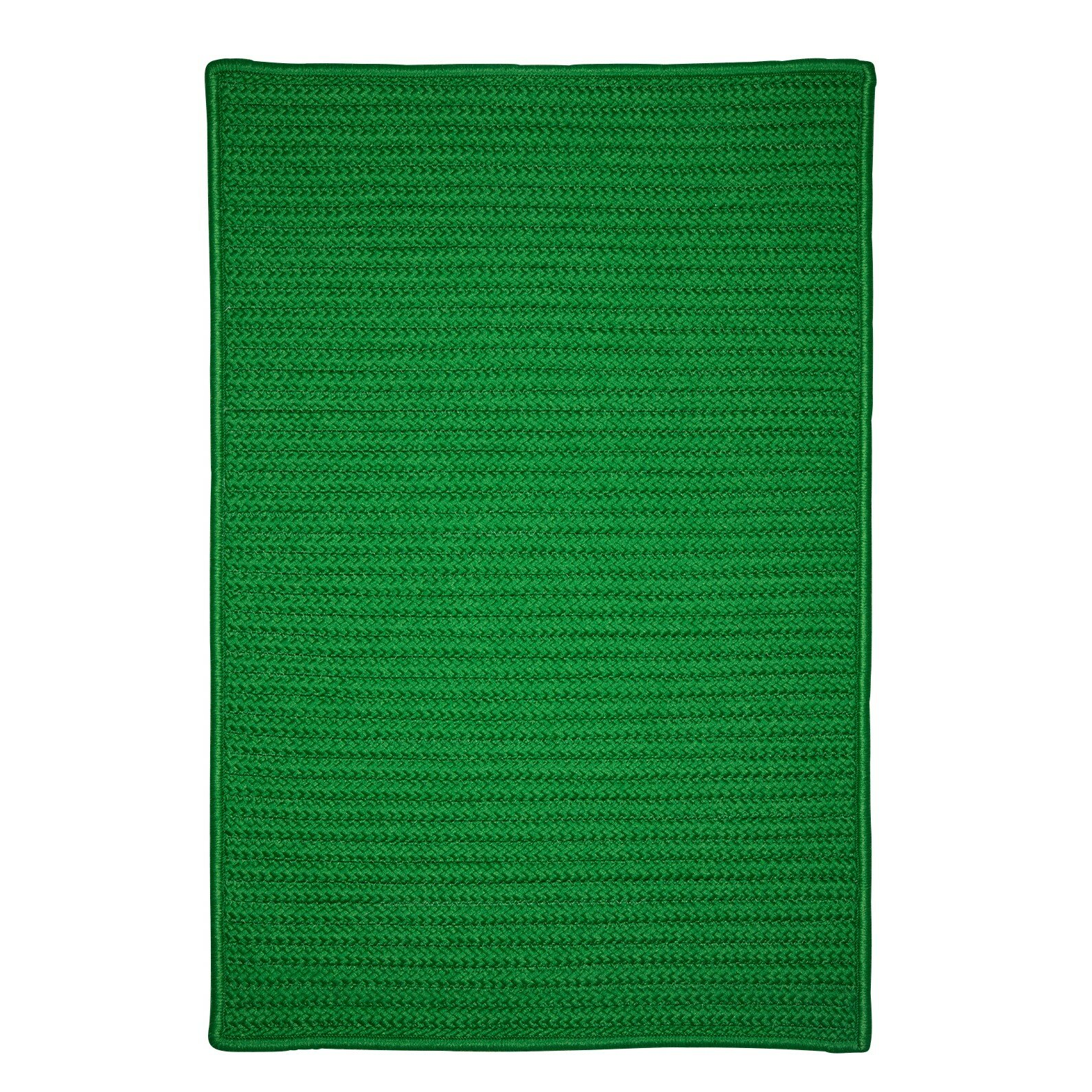 Charlton home glasgow green indoor outdoor area rug for Indoor outdoor carpet green