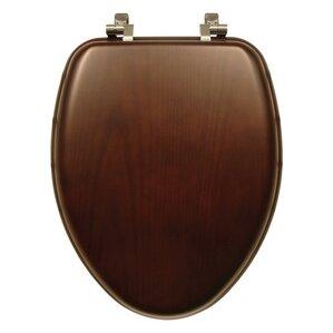natural reflections wood elongated toilet seat