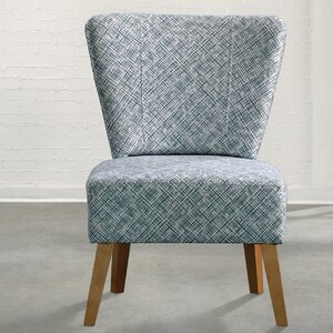 Patchway Geometric Slipper Chair by Varick Gallery