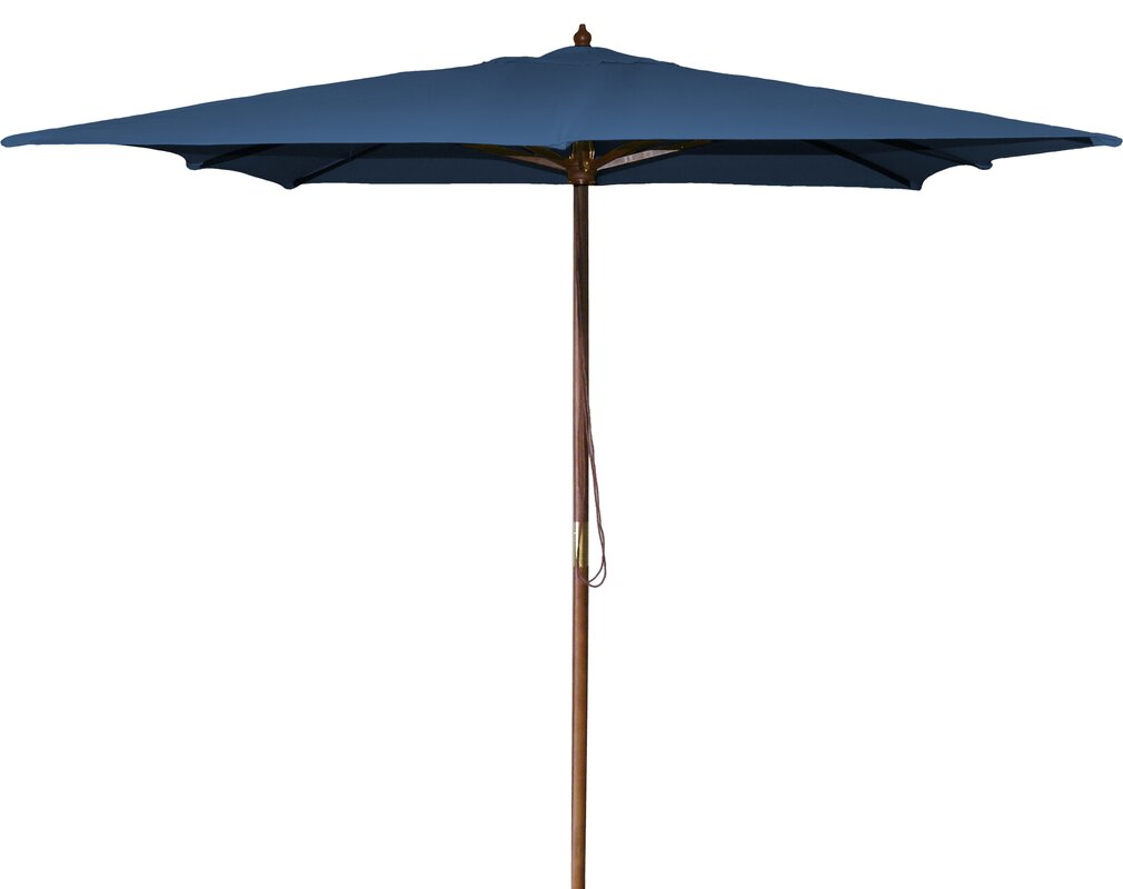 three posts new haven ' square market umbrella  reviews  wayfair - defaultname