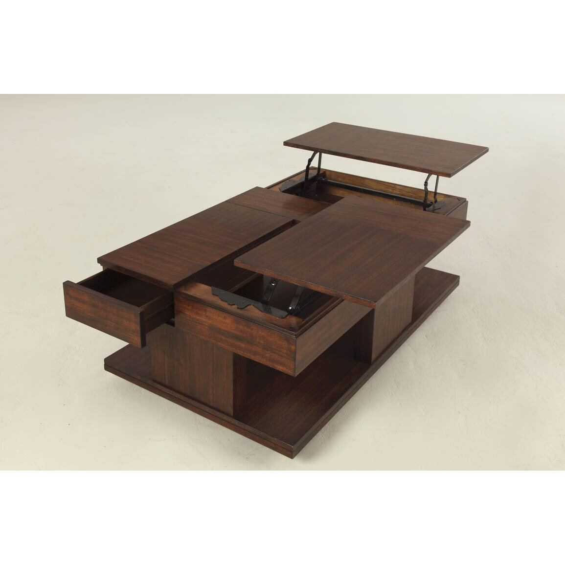 Dail Coffee Table with Double Lift-Top - Darby Home Co Dail Coffee Table With Double Lift-Top & Reviews