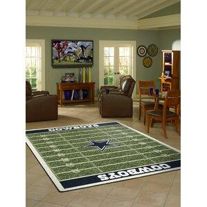 NFL Homefield Dallas Cowboys Football Indoor/Outdoor Area Rug