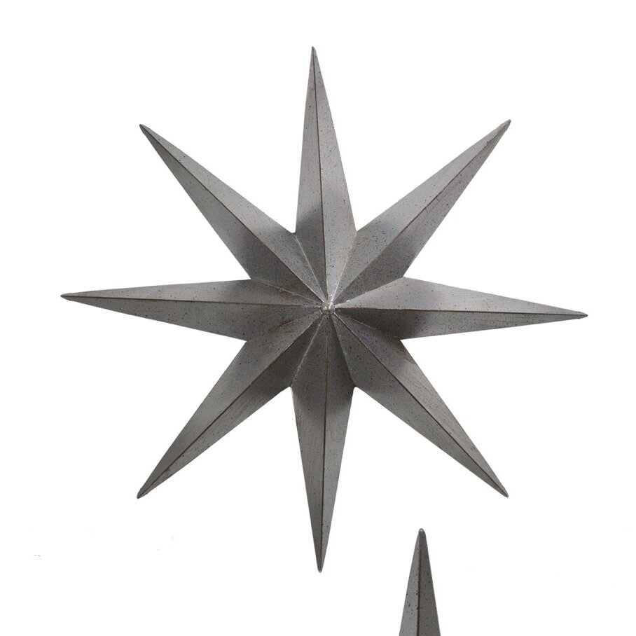 large plasma cut metal star wall decor - Star Wall Decor