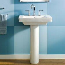 Boulevard 24 Pedestal Bathroom Sink With Overflow