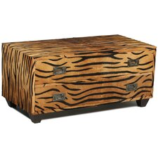 Bengal Tiger Coffee Table by Sarreid Ltd
