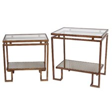 Siobhan 2 Piece End Table Set by Willa Arlo Interiors