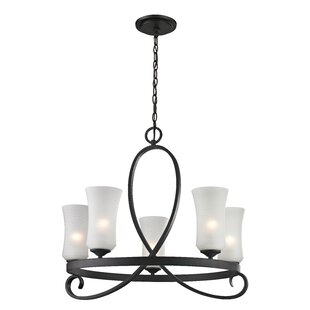 Hummel 5-Light Shaded Chandelier by Bloomsbury Market